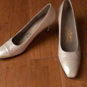 Beautiful Authentic Ferragamo Heels size 8.5 AAAA
